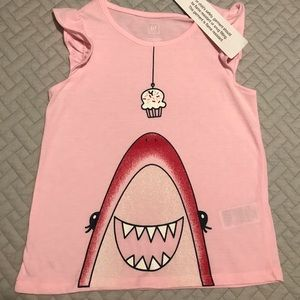NWT Girls GAP Pink Ruffled Sleeves Tank ... 8e495a7f5